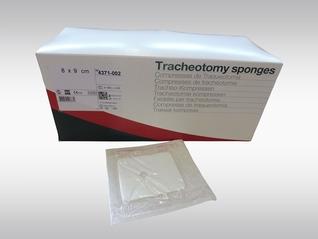 Tracheotomie Kompressen