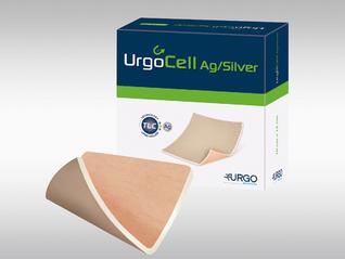 URGOCELL SILVER Antibakterielle Schaumstoffwundauflage mit TLC-Ag-Matrix