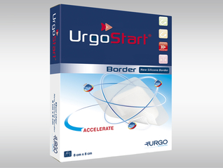 URGOSTART Border Schaumstoffwundauflage mit TLC-NOSF-Matrix