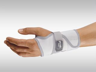 Push med Handgelenk-Bandage Splint