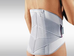 Push med Lumbal-Bandage