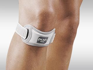 Push med Patella-Bandage