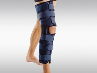 Knie-Schiene