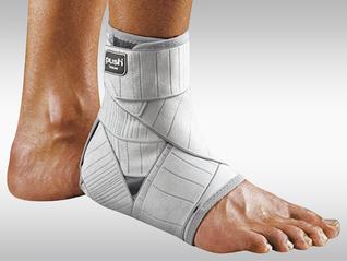 Push med Knöchel-Bandage