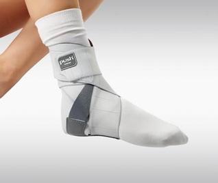 Push med Aequi Flex Knöchel-Bandage