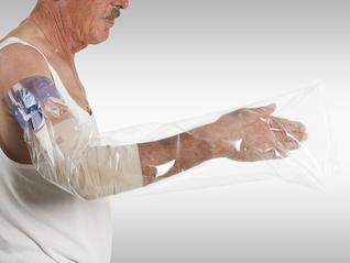 ILLA Dusch-Schutzfolien für den Arm