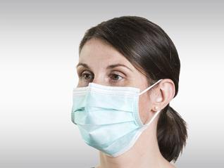 OP-Masken mit Gummibändern
