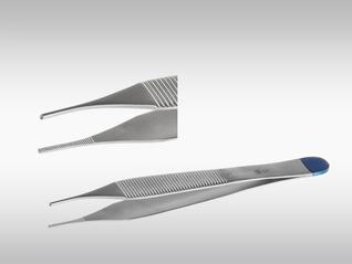 CLINA STAR Anatomisch Pinzettte Adson, steril, 12 cm