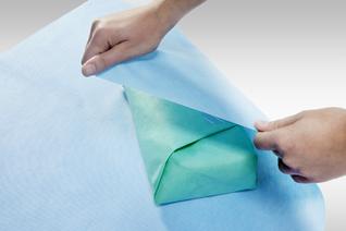 STERISHEET ArjoWrap™ 357 NW blau Sterilisationsvlies