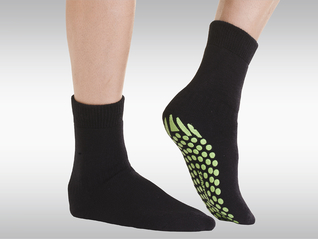 SANAVIDA Safety Socks, Husky Anti-Rutsch-Socken