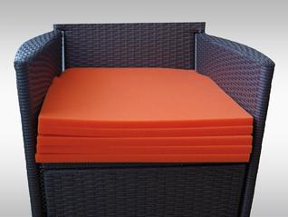 LIGASANO orange Sitzkissen