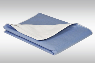 ABRI-SOFT Krankenunterlage mit Seiteneinstecklacken