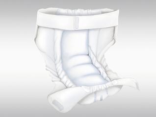 ABRI-WING Gürtel-Inkontinenzprodukt